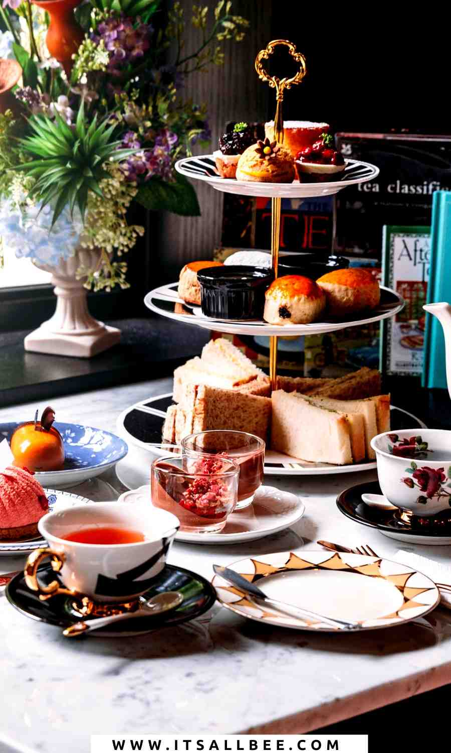 cool places for afternoon tea in london