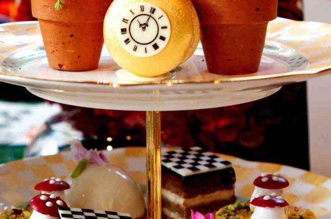 alice in wonderland themed afternoon tea
