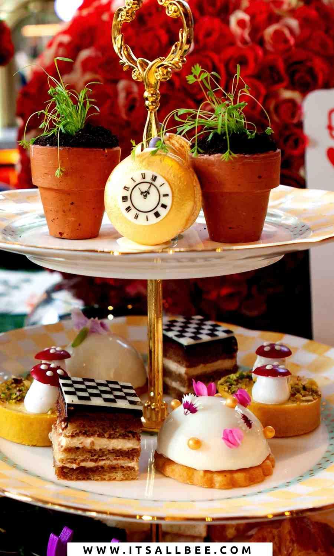 disney afternoon tea london - alice in wonderland london tea