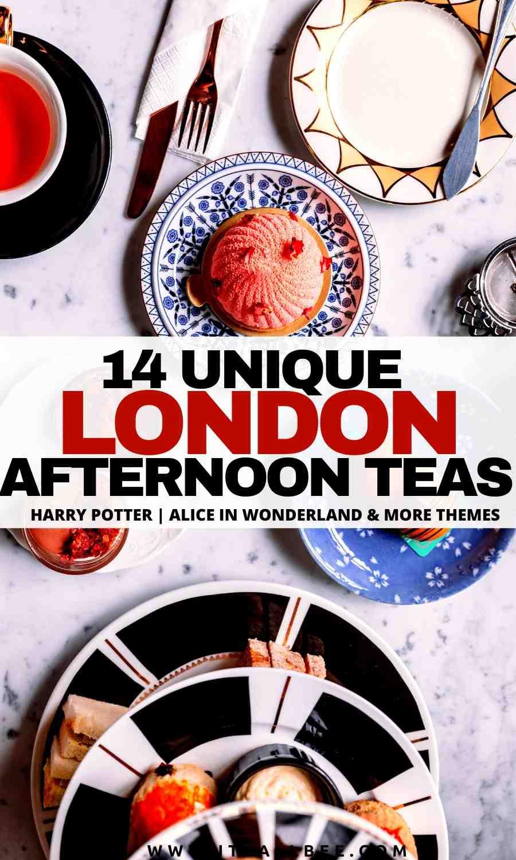 alice in wonderland london tea