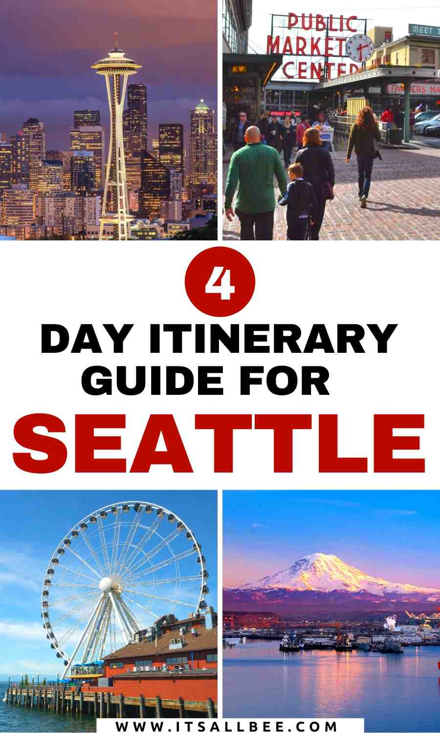 What to see in Seattle in 4 days