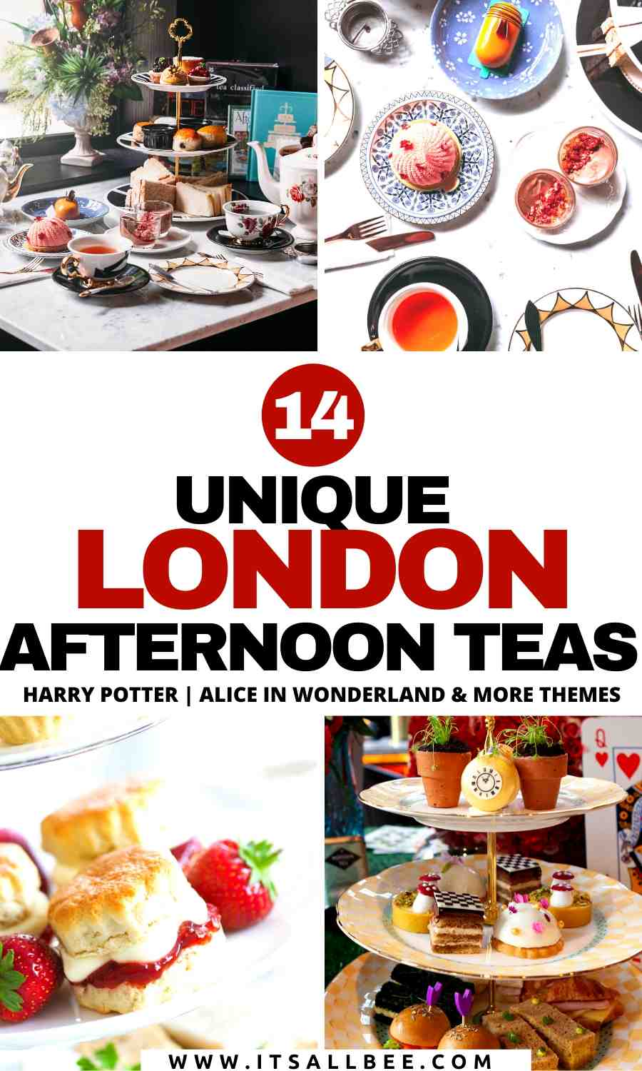 quirky london afternoon tea