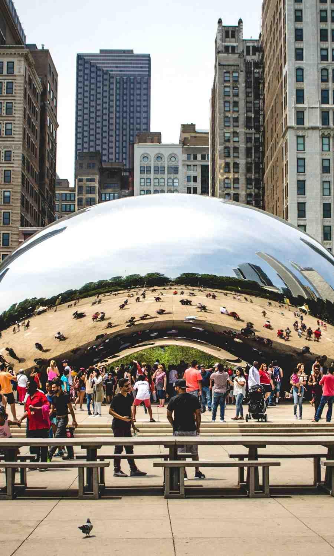 Chicago Cloud Gate Millennium Park