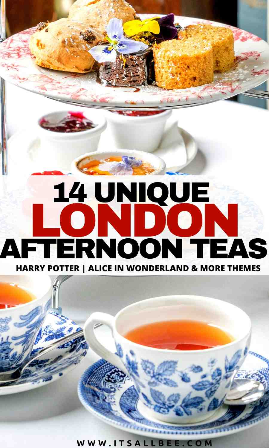 best themed afternoon tea in london