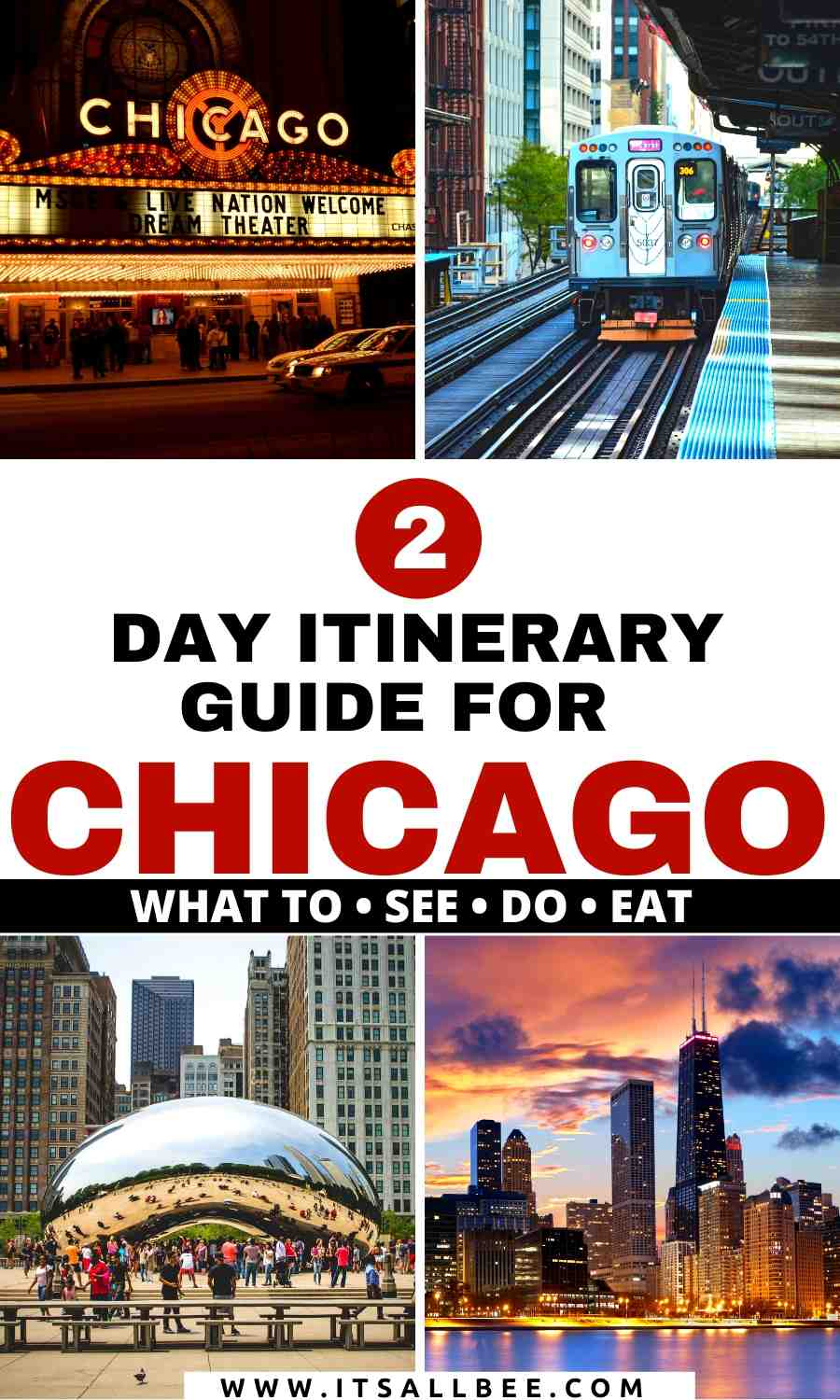 what to see and do in Chicago in 2 days - an itinerary guide